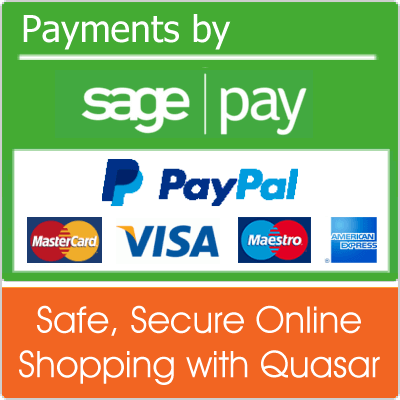 Payments Secured by SagePay and PayPal