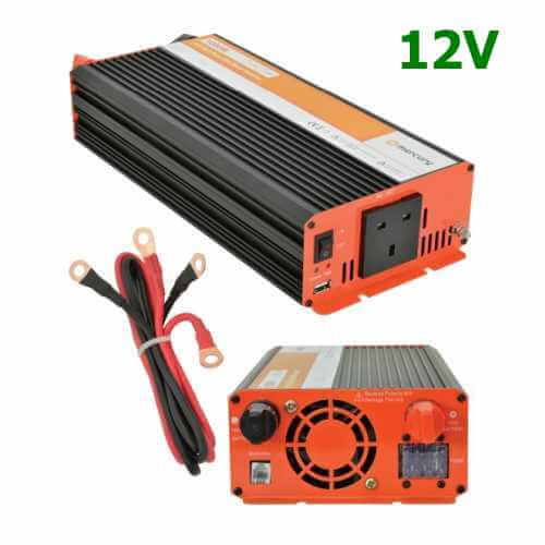 Pure Sine Wave Inverter 12V to 230V | Soft Start | Quasar Electronics