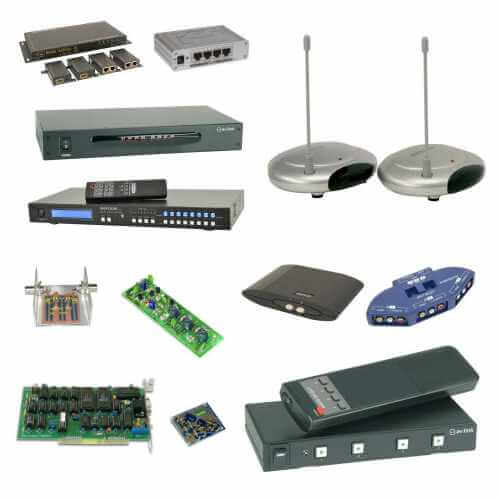 Audio Video Equipment Ranges | Quasar Electronics UK