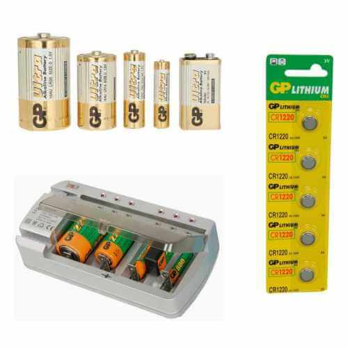 Alkaline Rechargeable Batteries | Battery Charger | Quasar Electronics