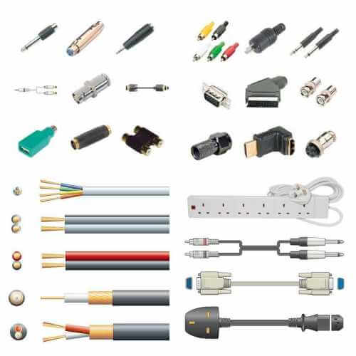 Cables, Leads , Connectors