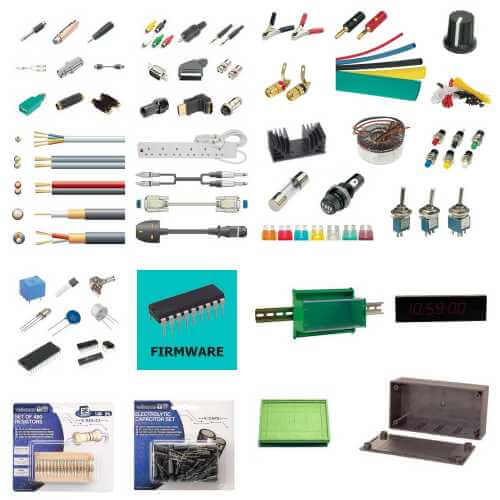 Components and Hardware Categories | Quasar Electronics