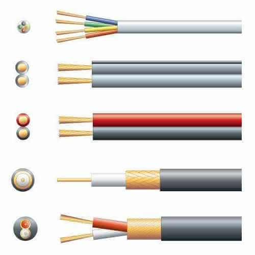 Electrical Cable Range | Quasar Electronics