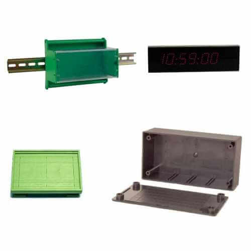 ABS Enclosures | Housings | DIN-RAIL Mountings | Quasar Electronics