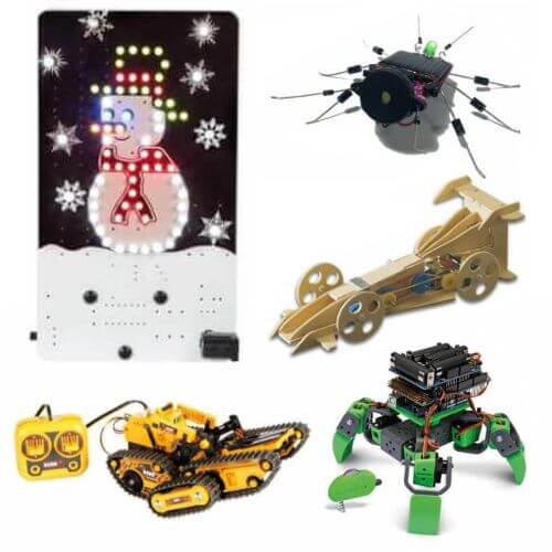 Kids School Holiday Boredom Busters - Educational Electronic Kits