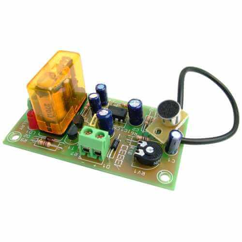 Audio Detector Electronic Kits