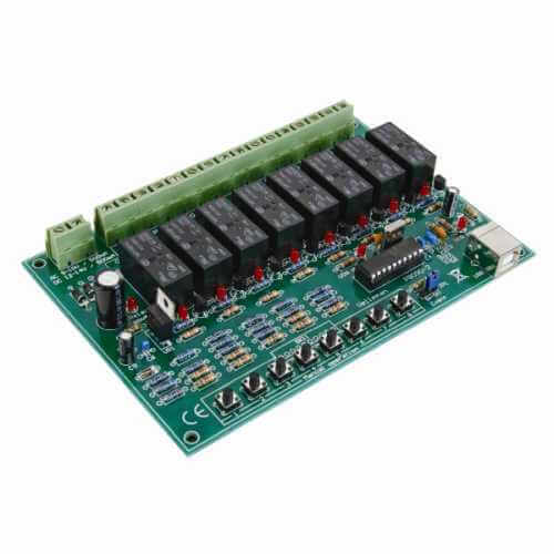 Computer Controlled Relay Board Electronic Project Kits Modules