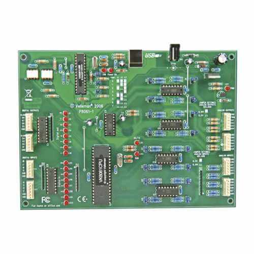 Computer Interface Board Electronic Project Kits Modules | Quasar