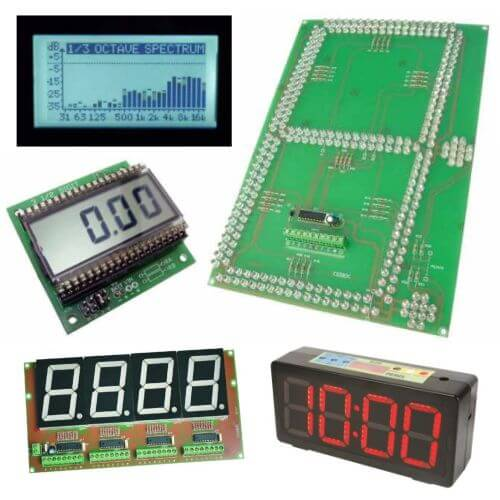 Display Meter Electronic Project Kits Modules | Quasar Electronics