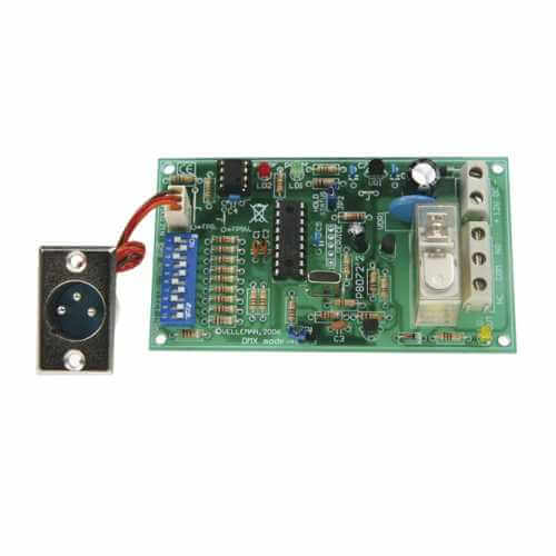 DMX Controlled Relay Board Electronic Project Kits Modules | Quasar