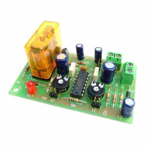 Pause Pulse Double Delay Timer Electronic Project Kits Modules | Quasar
