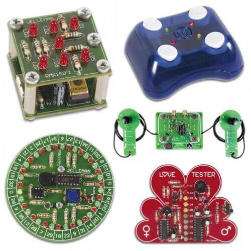 Electronic Game Educational Project Kits Modules | Quasar