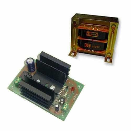 Fixed Voltage Power Supplie Electronic Project Kits Modules | Quasar