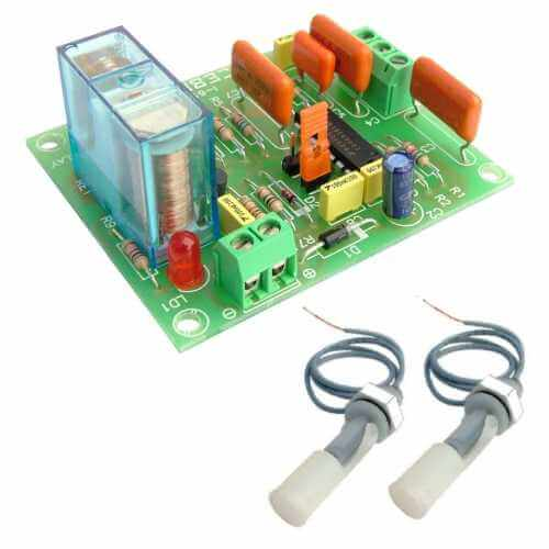 Fluid Activated Relay Board Electronic Project Kits Modules | Quasar