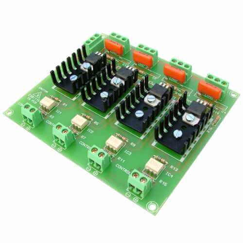 Isolated IO Board Electronic Project Kits Modules | Quasar
