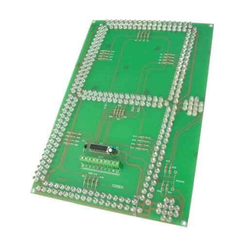 BCD, Multiplexed Large Digit LED Display Boards | Quasar Electronics