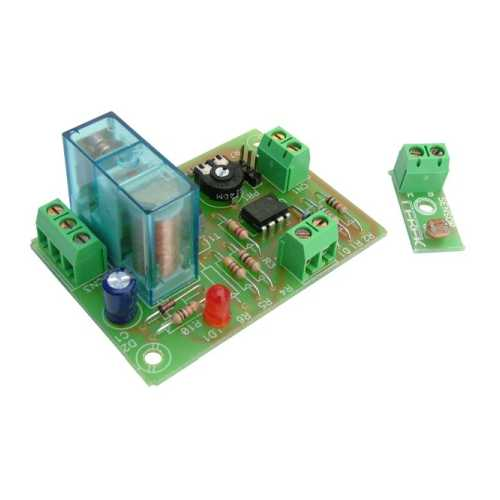 Light Activated Relay Board Electronic Project Kits Modules | Quasar