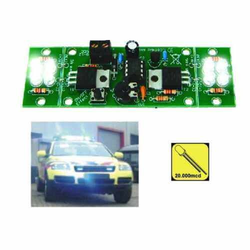 Motoring Light Effect Electronic Project Kits Modules | Quasar