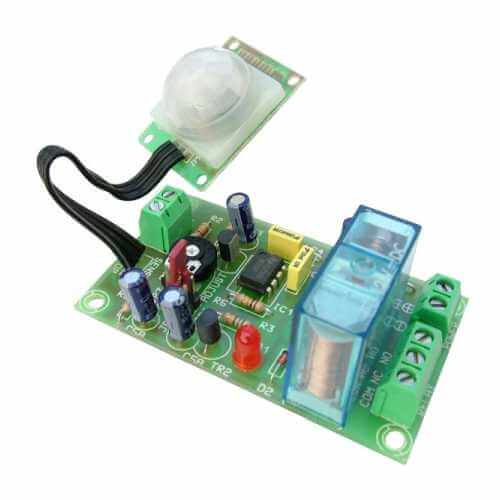 Movement Activated Relay Board Electronic Kits Modules | Quasar