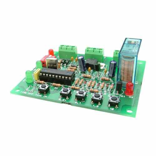 Multi Function Delay Timer Electronic Project Kits Modules | Quasar