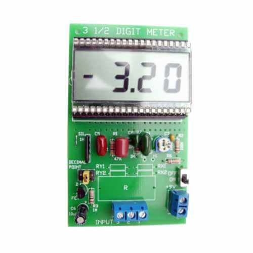 LED / LCD Panel Meter Electronic Project Kits Modules | Quasar Electronics