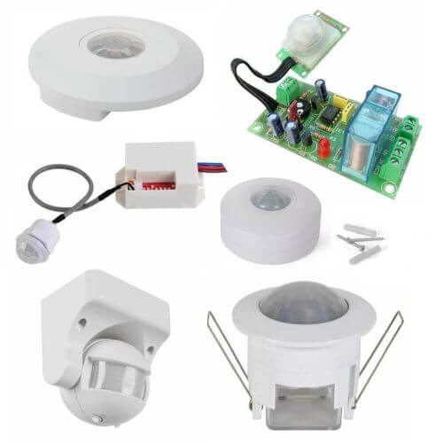 PIR Optical Movement Sensor Electronic Project Kits Modules