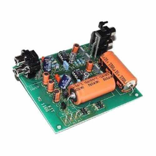Phono Dynamic Head Preamplifier Electronic Project Kits Modules