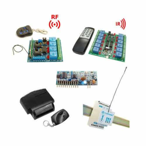 Remote Control Electronic Project Kits Modules | Quasar
