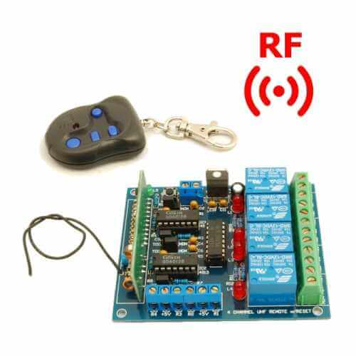 RF Remote Control UHF Electronic Project Kits Modules | Quasar
