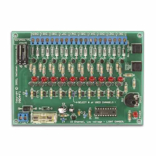 Running Lights Chaser Electronic Project Kits Modules | Quasar