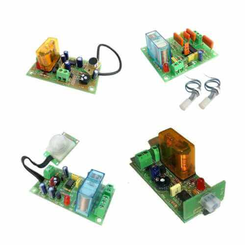 Sensing Device Electronic Project Kits and Modules | Quasar Electronics