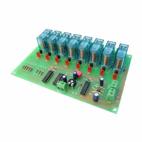 Sequential Controller Relay Electronic Project Kits Modules | Quasar