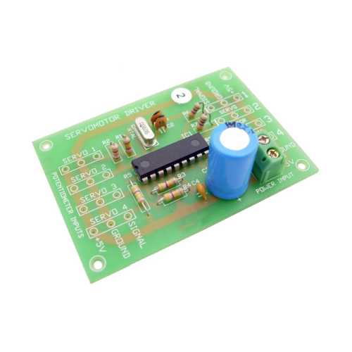 Servo Motor Driver Electronic Project Kits Modules | Quasar