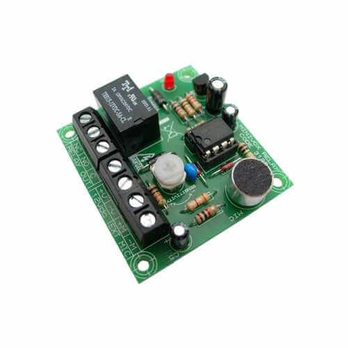 Sound Activated Relay Board Electronic Project Kits Modules | Quasar