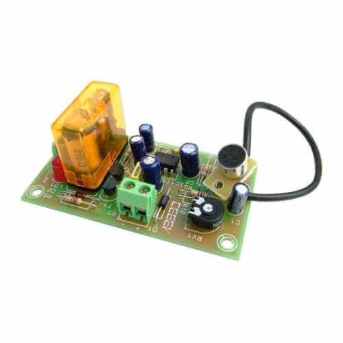 Sound Activated Switch Electronic Project Kits Modules | Quasar