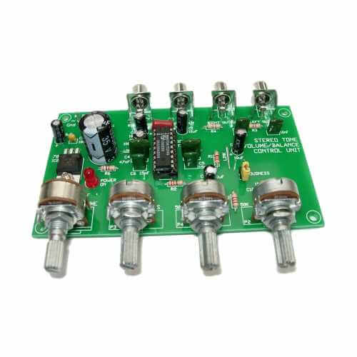 Stereo Preamplifier General Purpose Project Kits Modules | Quasar