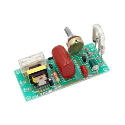 Strobe Light Electronic Project Kits Modules | Quasar Electronics