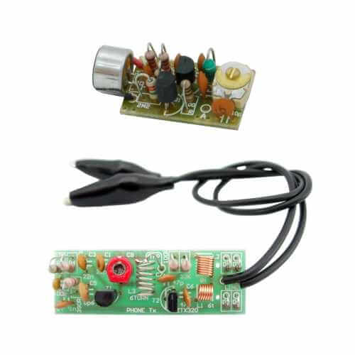 Surveillance Equipment Electronic Project Kits Modules | Quasar