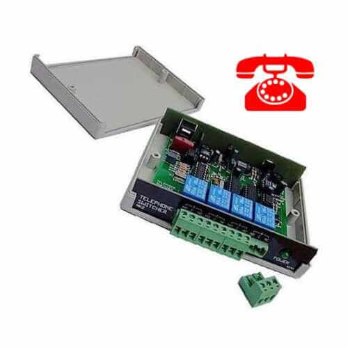 Telephone Activated Relay Boards