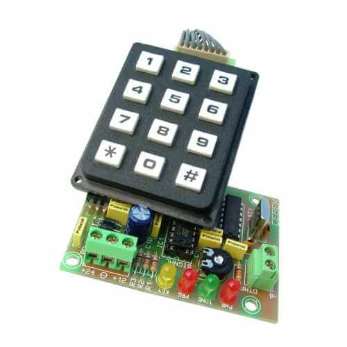 Telephone DTMF Tone Generators & Receiver