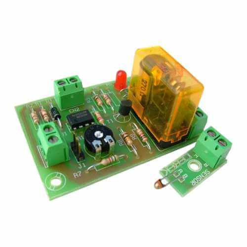 Temperature Activated Relay Board Project Kits Modules | Quasar