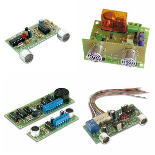 Ultrasonic Movement Sensor Electronic Project Kits Modules | Quasar