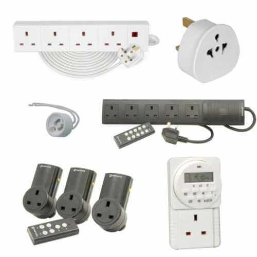 Mains Electrical Hardware Accessories Range | Quasar Electronics