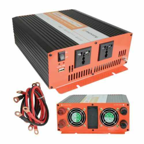 Power Inverter for Car Truck | 12V 24V to 230V | Quasar UK Superstore