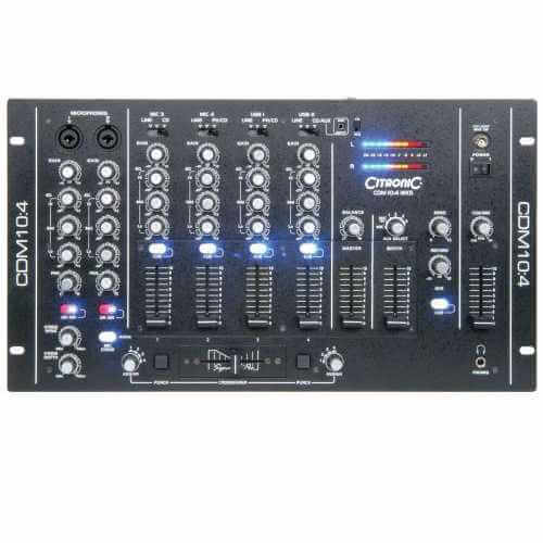 DJ mixers | Audio Equipment | Professional Audio | Quasar Electronics