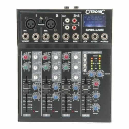 Live mixers | Audio Equipment | Professional Audio | Quasar Electronic