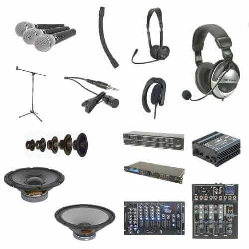 Professional Audio Equipment Ranges | Quasar Electronics