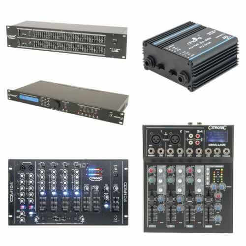 Audio Equipment | Professional Audio | Quasar Electronics