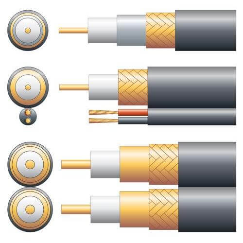 RG59B/U 75 Ohm Foam Filled Coaxial Cable Range | Quasar Electronics