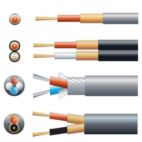 Single, 2-Core, 4-Core Screened Audio Cables Range | Various Colours | BS Approved